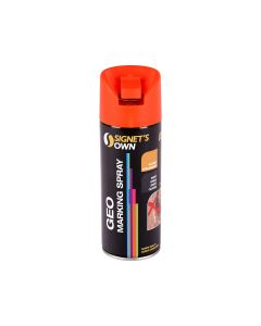 Signet's Own Vertical Geo Spray - Fluoro Orange