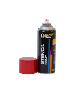 Signet's Own Stencil Spray 350g - Red
