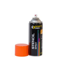 Signet's Own Stencil Spray 350g - Orange