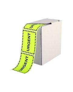 Signet's Own Labels 75mm x 100mm - Urgent (1000 per roll)
