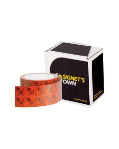 Signet's Own Labels 25mm x 25mm - Flammable Liquid 3 (1000 per roll)
