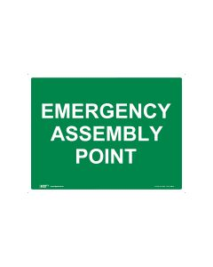Emergency Assembly Point 600mm x 450mm - Coreflute