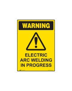 Electric Arc Welding 450mm x 600mm - Coreflute