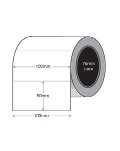 insignia Thermal Transfer Labels 100mm x 50mm (3000 per roll)