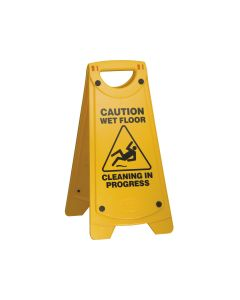 Wet Floor 625mm x 300mm - Yellow