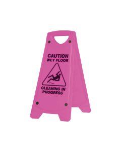 Wet Floor 630mm x 260mm - Pink