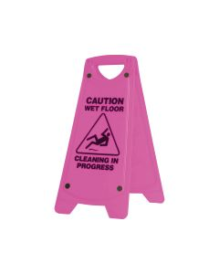 Wet Floor 625mm x 300mm - Pink