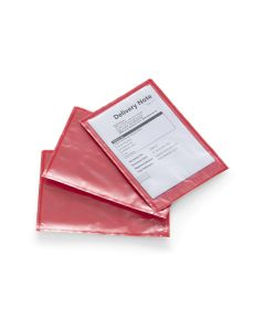 Signet's Own Plain Doculopes A6 175mm x 125mm - Red (1000 per box)