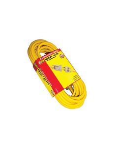 HPM Heavy Duty Extension Lead - Yellow 10m