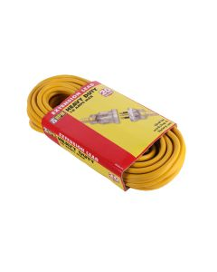 HPM Heavy Duty Extension Lead - Yellow 20m