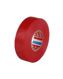 tesa 60805 Electrical Tape 19mm x 20m - Red