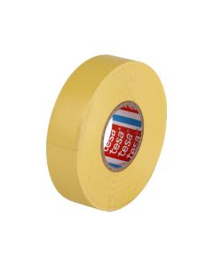 tesa 60805 Electrical Tape 19mm x 20m - Yellow