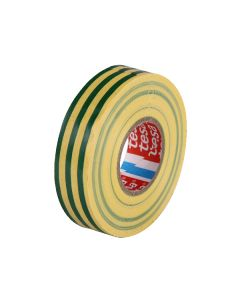 tesa 60805 Electrical Tape 19mm x 20m - Green/Yellow