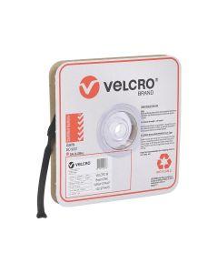 VELCRO® Brand ONE-WRAP® Straps 19mm x 200mm Black 100 Straps Per Roll