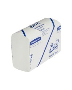 13207 Scott® Multifold Hand Towels - White