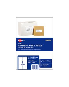 Avery A4 Labels 99.1mm x 67.7mm