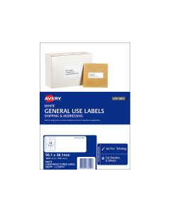 Avery A4 Labels 99.1mm x 38.1mm