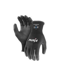 Ninja P4001 Palm Coated Handling Gloves - Small (12 pairs per carton)