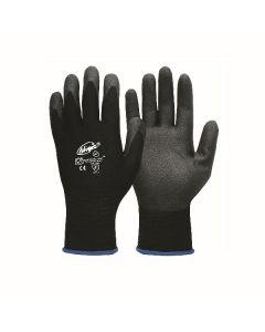 Ninja P4001 Palm Coated Handling Gloves - Medium (12 pairs per carton)