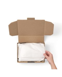 Tissue Paper - White 750mm x 500mm x 17gsm