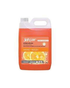 Soft Care Anti Bacterial Hand Wash - Citrus Splash 5L