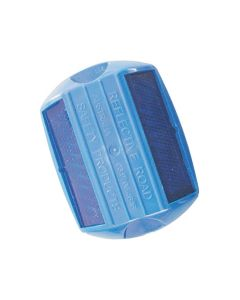 Stimsonite Raised Pavement Markers - Blue/Blue Reflector