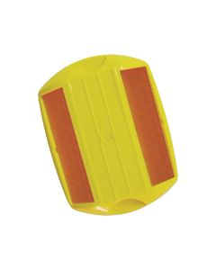 Stimsonite Raised Pavement Markers - Yellow/Yellow Reflector
