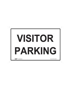 Visitor Parking 450mm x 300mm - Metal
