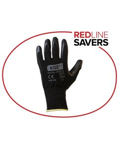 Signet's Own Nitrile Gloves -Black Size 8 (12 pairs per carton)