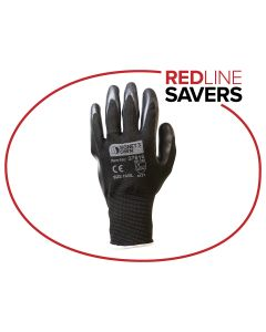 Signet's Own Foam Nitrile Gloves - Black Size 10 (12 pairs per carton)