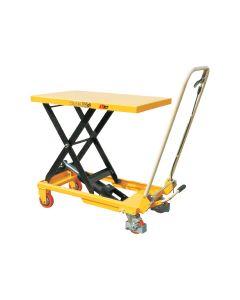 Scissor Lift Table & Trolley - 700mm x 450mm x 36mm