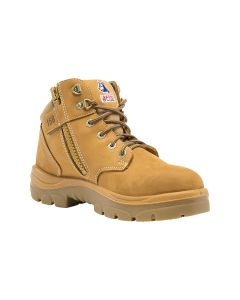 Steel Blue Parkes Zip Safety Boots - Size 9.5 Wheat