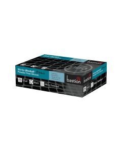 Nitrile Gloves Powder Free - Black, Small (100 per box)