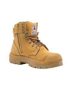 Argyle Zip TPU/Bump Cap Safety Boots – Wheat (Size 8)