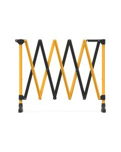 Portable Barrier – Yellow & Black 900mm × 3m
