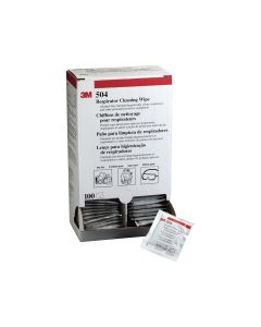 3M 504 Respirator Cleaning Wipes (100 per box)