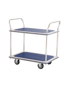 Two Tier Double-Handle Trolley