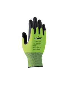 Uvex C500 foam cut protection safety - Size 9