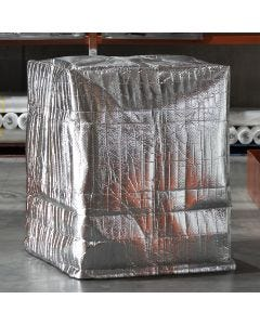 Signet's Own Foil Backed Bubble Pallet Covers - 1200mm x 1200mm x 1500mm