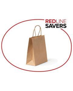 Paper Carry Bags No.16 - 240+120x355mm (250 per Carton)