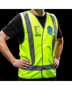 Official NSW State of Origin Safety Vest Reflective X-Large