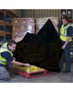 Pallet Bag 1900mm x 90um - Black (25 bags per roll)