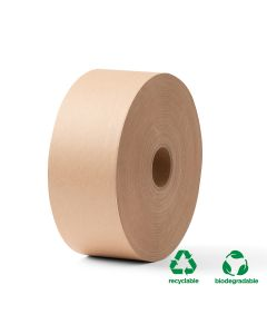 Kraft Water Activated Tape - 70mm x 184m