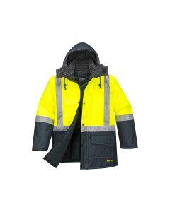 Freezer Jacket in Yellow/Forest Green - Size XXL