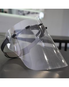 Face Shield With Strap - Clear