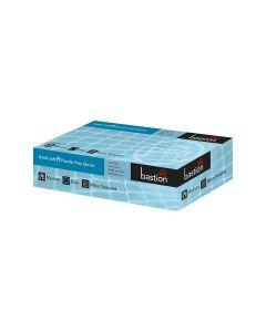 Nitrile Gloves Powder Free - Blue, Medium (100 per box)