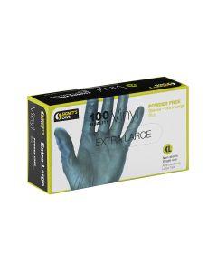Signet's Own Vinyl Gloves Powder Free - Blue, X Large (100 gloves per box)