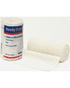 BSN Handy Crepe Hospital Bandage - 7.5 cm x 1.5 m (12 per pack)