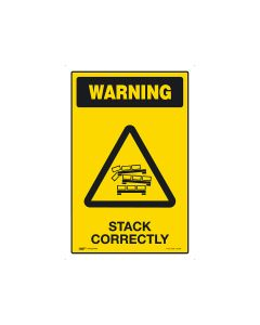 Stack Correctly 300mm × 450mm - Metal