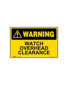 Watch Overhead Clearance 450mm × 300mm - Metal